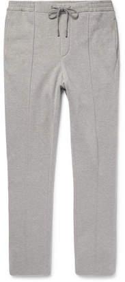 Ralph Lauren Purple Label Slim-Fit Fleece-Back Cotton-Blend Jersey Sweatpants