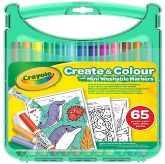 Crayola 'Create And Colour' Mini Washable Markers Set