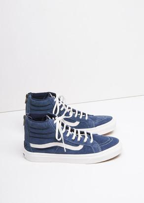 Vans Sk8-Hi Slim Zip Sneakers $85 thestylecure.com