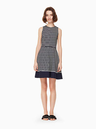 Kate Spade Stripe ponte dress