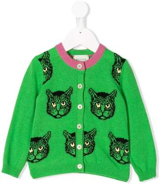 Gucci Kids Baby Mystic Cats cardigan
