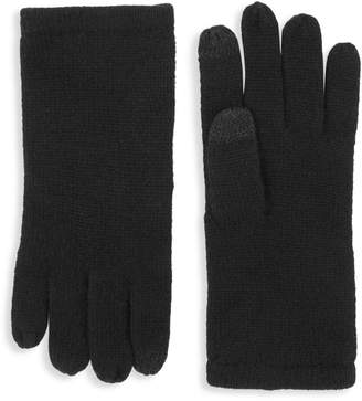 Amicale Textured Cashmere Gloves