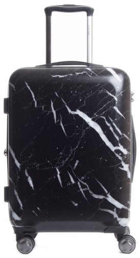 CalPak Astyll 22 Inch Rolling Spinner Carry-On - Black