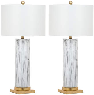 Safavieh Sonia Faux Marble 31.25In Table Lamp