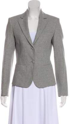 Balenciaga Structured Notch-Lapel Blazer
