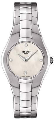 Tissot Women's T-Round Diamond Watch, 25mm - 0.015 ctw