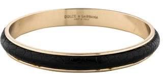 Dolce & Gabbana Ostrich Bangle