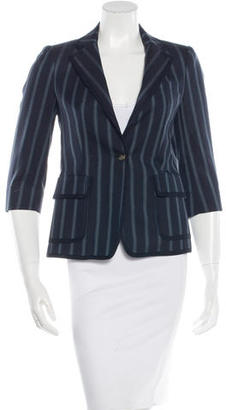 Boy. by Band of Outsiders Virgin Wool Striped Blazer $75 thestylecure.com