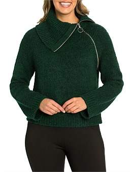 Marc O'Polo Marco Polo Long Sleeve Relaxed Zip Sweater