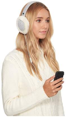 UGG Textured Wired Knit Earmuff Cold Weather Hats