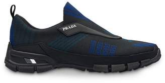 Prada Crossection knit sneakers