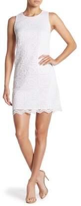 Cynthia Steffe CeCe by Lace Scallop Hem Dress