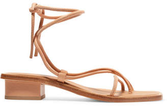 ara LOQ Leather Sandals - Neutral