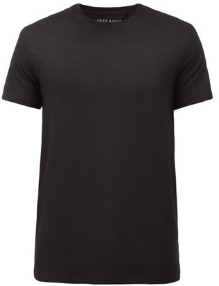 Derek Rose Basel Jersey T Shirt - Mens - Black