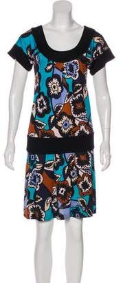 Diane von Furstenberg Print Knee-Length Dress