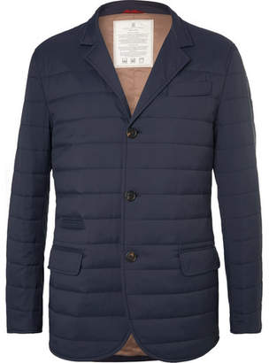 Brunello Cucinelli Quilted Waterproof Shell Jacket