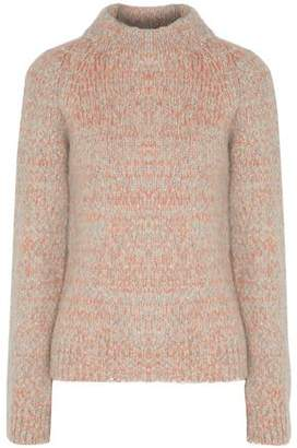 Duffy Marled Knitted Turtleneck Sweater