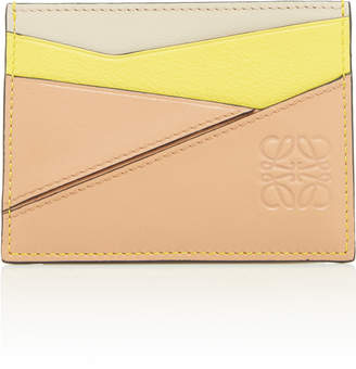 Loewe Puzzle Leather Card Holder