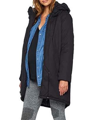 f807588ea2483 Mama Licious Mamalicious Women's Tikka Carry Me Padded Jacket-Noos  Maternity Black, (Size