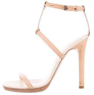 Reed Krakoff Leather High-Heel Sandals