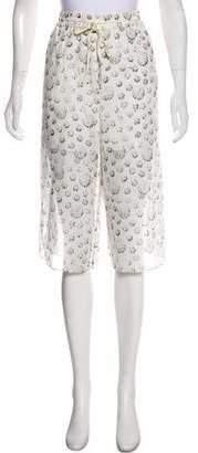 Tibi High-Rise Cropped Pants