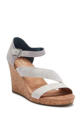 Toms Clarsa Wedge Sandal