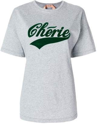 No.21 Cherie oversized T-shirt