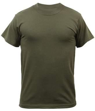 Rothco Solid Color Poly/Cotton Military T-Shirt - ACU Digital Camo, 3X-Large