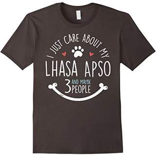 I Just Care About My Lhasa Apso T-Shirt