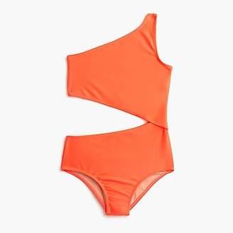 J.Crew Girls' one-piece swimsuit with cut-out