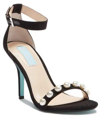 Betsey Johnson River Pearl Embellished High Heel Sandal