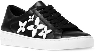MICHAEL Michael Kors Lola Embellished Sneakers $140 thestylecure.com