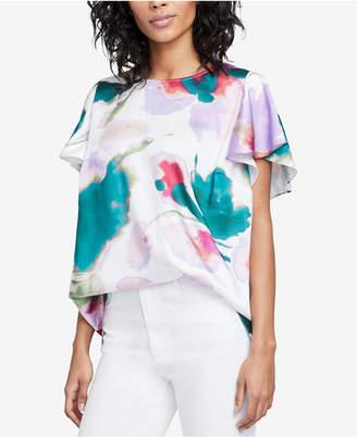 Rachel Roy Amalfi Floral-Print Top, Created for Macy's