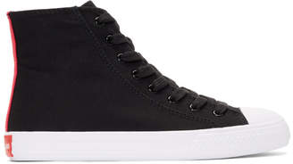 Calvin Klein Black Constantine 135 High-Top Sneakers