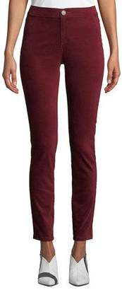 Nic+Zoe Stretch Velvet Slim Pants, Plus Size