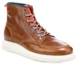 Paul Smith Caplan Lace-Up Leather Boots