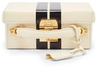 Mark Cross Grace Small Leather Cross Body Bag - Womens - White Black