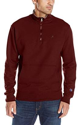 Champion Men's Powerblend Quarter-Zip Fleece Jacket