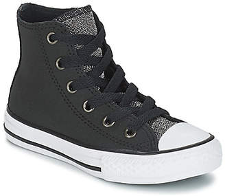 fd0aaa3ce24 Converse All Star Hi Leather Kids - ShopStyle UK