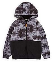 Munster Kids' Tie-Dyed Tech-Fabric Jacket-Black