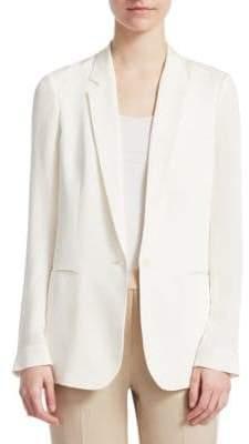 Theory Grinson Silk Jacket