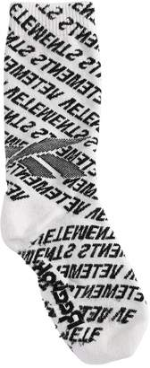 Vetements Jacquard Socks