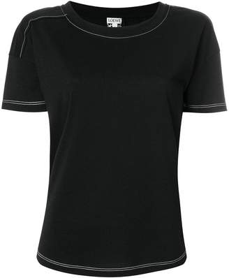 Loewe embroidered detail T-shirt