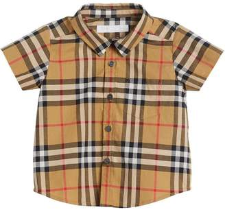 Burberry Vintage Check short-sleeve shirt