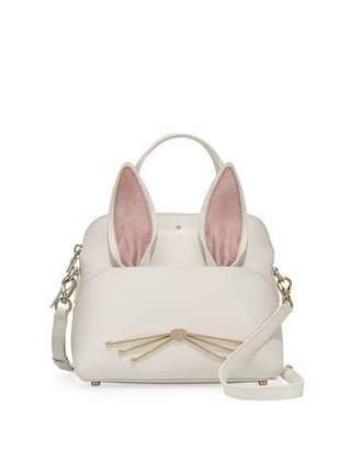 Kate Spade New York Make Magic Maise Small Bunny Satchel Bag, Multi $348 thestylecure.com