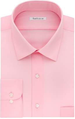 Van Heusen Men's Regular-Fit Lux Sateen Dress Shirt
