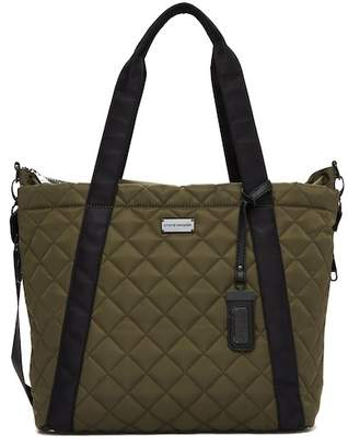 Steve Madden Sporty Quilted Nylon Tote