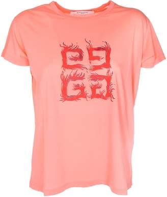 Givenchy 4g Logo T-shirt