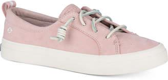 Sperry Women's Crest Vibe Memory-Foam Lace-Up Sneakers Women's Shoes