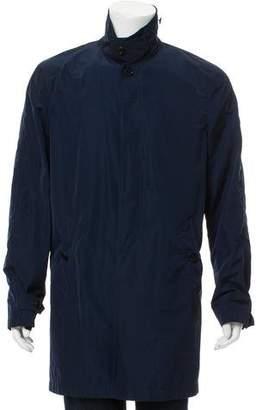 Burberry Lightweight Button-Up Jacket